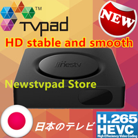 Genuine Japanese Tvpad 4 Lines Box Korea Movies Built In WIFI Android TV Free Japan