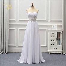Jeanne Love Chiffon Beach Wedding Dress 2020 Applique Lace Robe De Mariage JLOV75995 Vestido Noiva Brida Dresses Gown