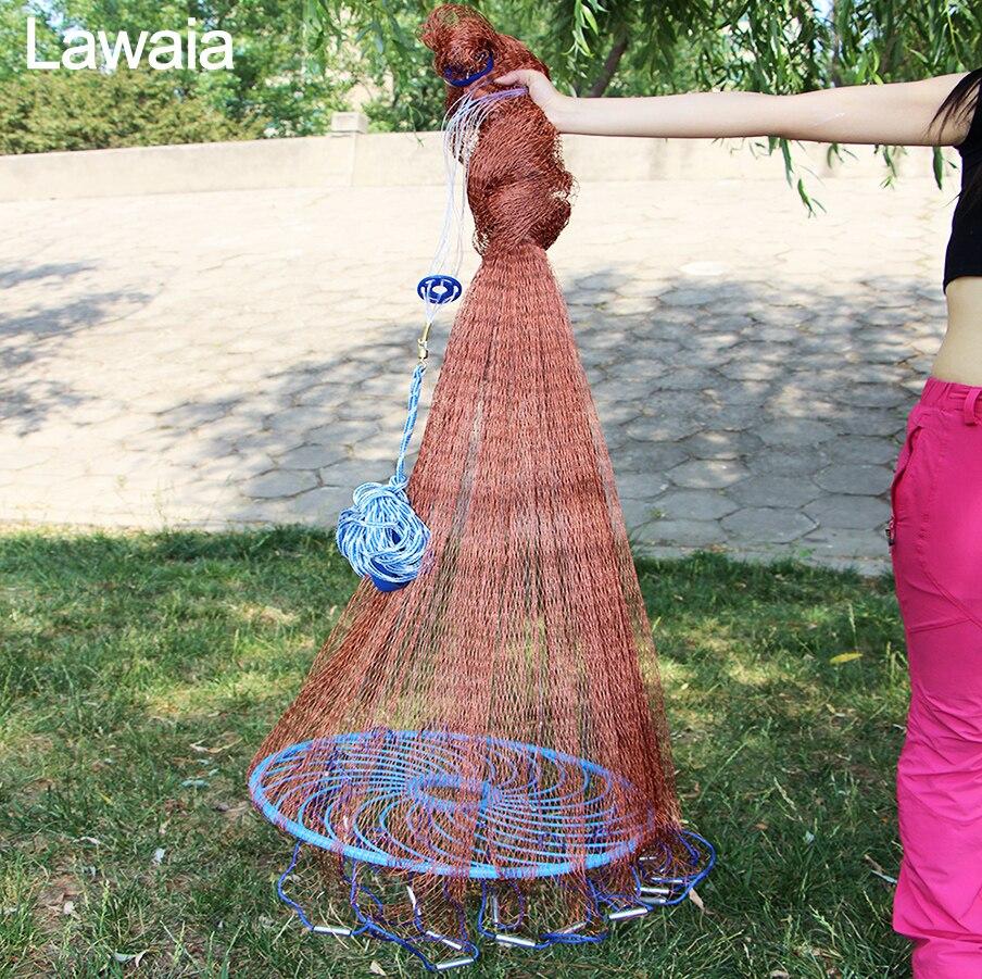 Lawaia قديم الملح المصبوب صافي رمي صافي - صيد السمك
