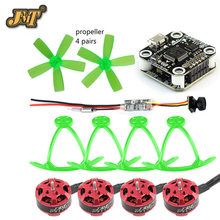 DIY Micro Brushless Indoor Racer FPV Drone Quadcopter Kit 1103 780KV Motor PIKO BLX F3 with