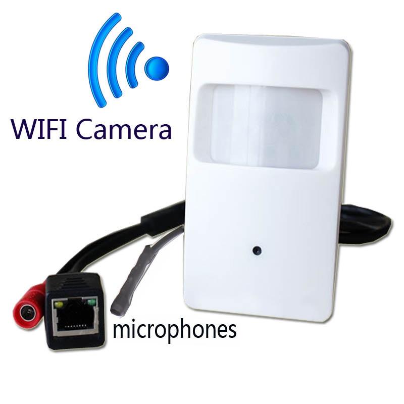 bilder für 720 P mini-ip-kamera mit WIFI port mini Kamera Bewegungsmelder HD PIR STYL Drahtlose Ip-kamera mini-ip-kamera wifi P2P sicherheit