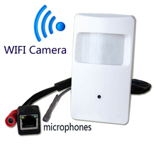 720P mini IP camera with WIFI port mini Camera Motion Detector HD PIR STYL Wireless IP Camera mini ip camera wifi P2P Security