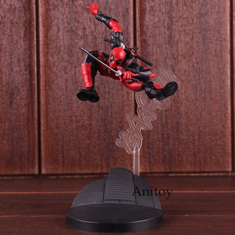 Criador X Criador Figura de Ação Deadpool Marvel Super Hero PVC Collectible Toy Modelo