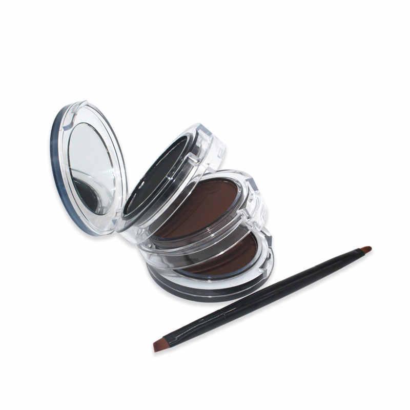 NITRQ 3 في 1 للماء طويلة الأمد كحل الحاجب لوحة مسحوق أطقم فُرش توزيع الماكياج العين بطانة العين الحاجب مسحوق مستحضرات التجميل مجموعة
