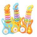 Aprendizagem Educação Toy Instrumentos Musicais New Criativo Guitarra Música Tambor interação Pai-Filho brinquedos Presentes Para Crianças