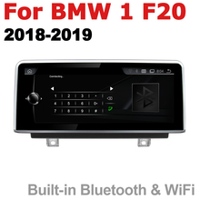 Android 7.0 up Car Multimedia player For BMW 1 Series F20 2018~2019 EVO Hatchbac WiFi GPS Navi Map Stereo Bluetooth 1080p