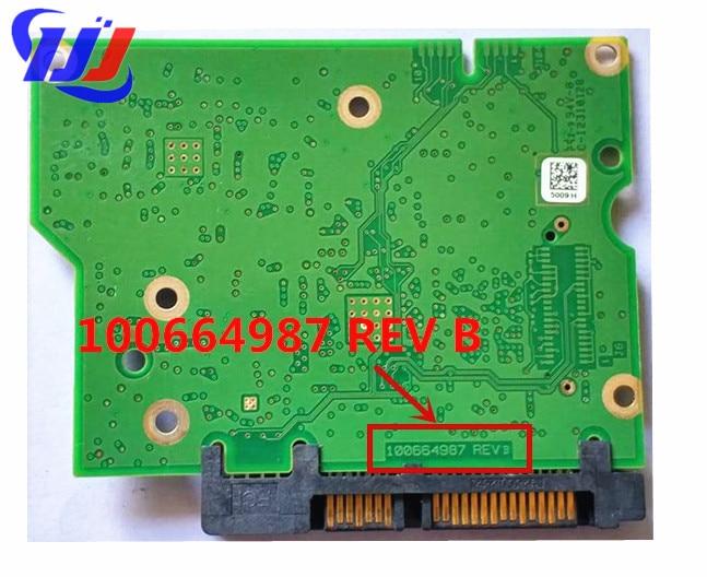 100664987 REV B ST1000DM003 ST3000DM001 HDD PCB hard drive circuit board No.