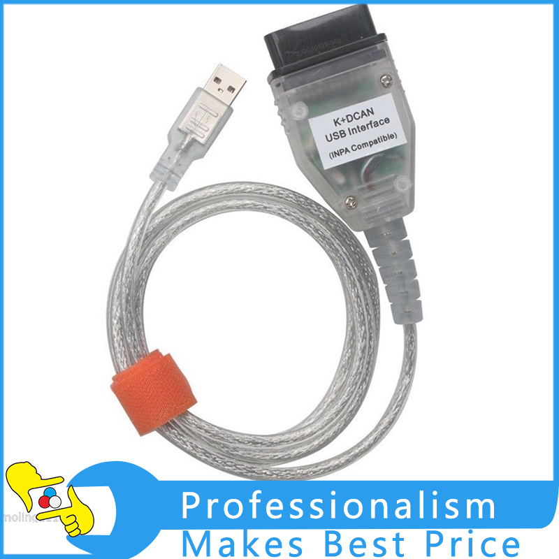 High Quality INPA/Ediabas K+CAN K+DCAN USB Interface For BMW Diagnostic Cable Tool