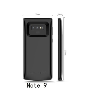 Image 3 - Schokbestendig battery charger case Voor Samsung Galaxy S9 S8 Plus Note 9 Externe Draagbare oplader Cover power bank Opladen case