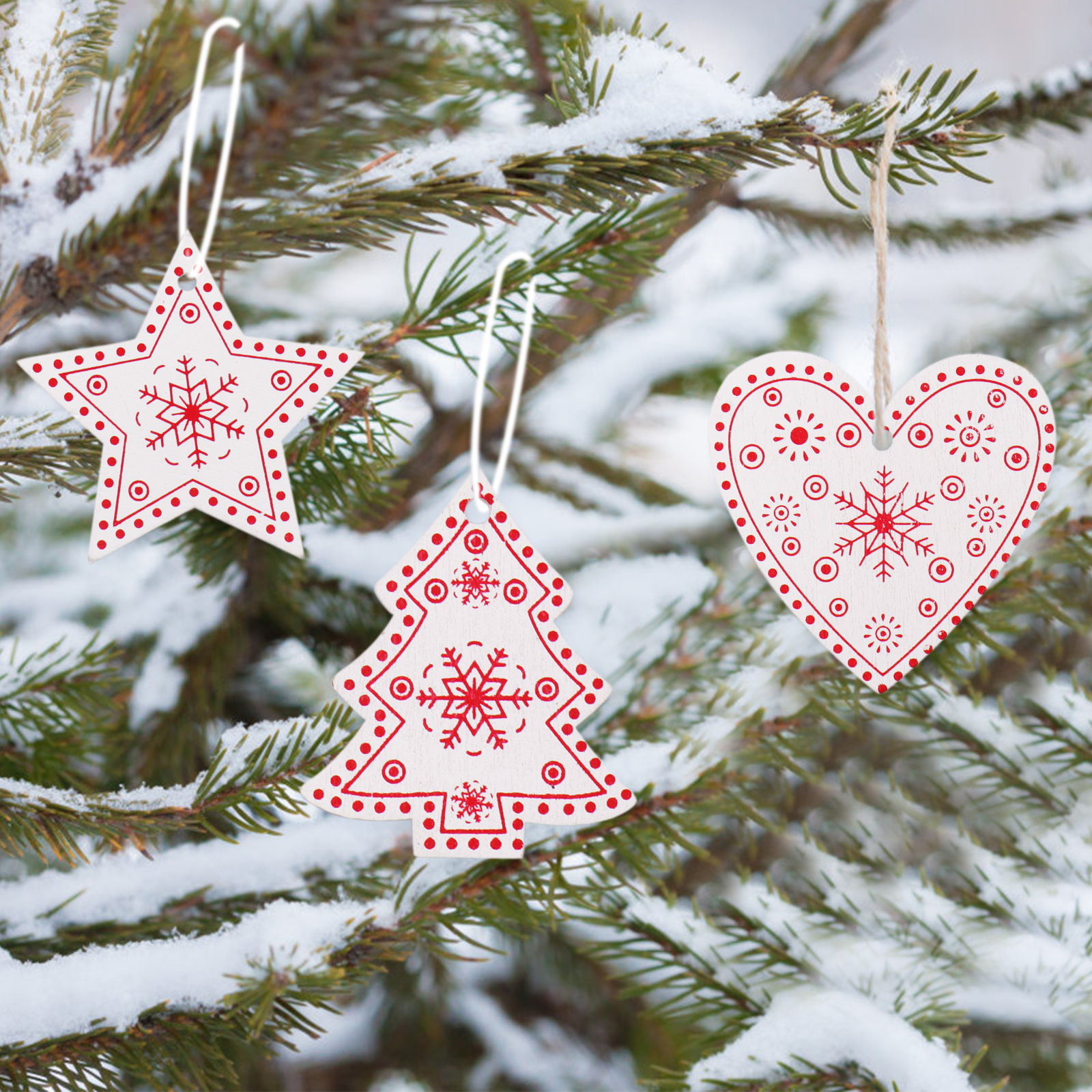 Christmas Wood Crafts.Us 0 58 25 Off Christmas Wooden Pendants Diy Wood Crafts Star Heart Xmas Tree Hanging Ornaments Christmas Party For Kids Gift Home Decorations In