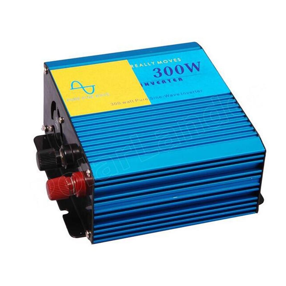300W USB port car charger power inverter pure sine wave car converter Transformer DC12V to AC220V 50HZ