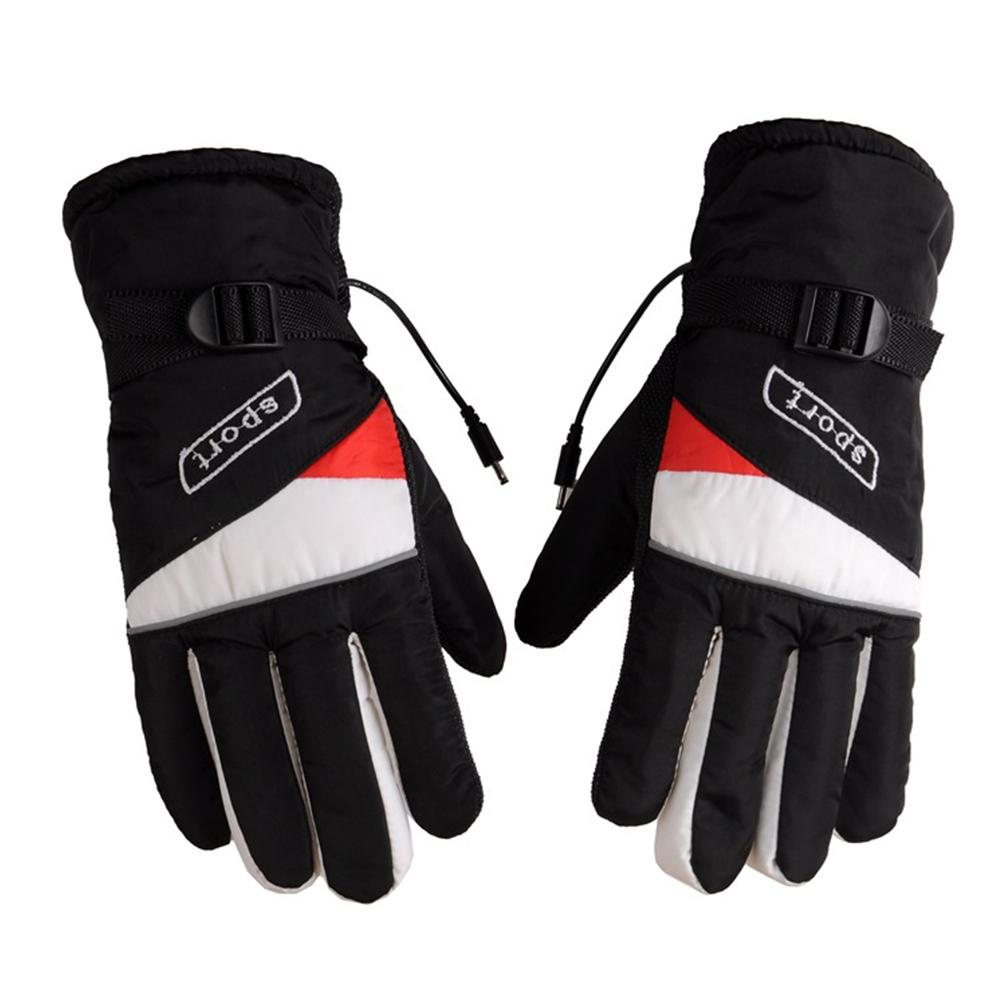 12V Motorcycle Outdoor Hunting Electric Warm Winter Warmer Heated Gloves