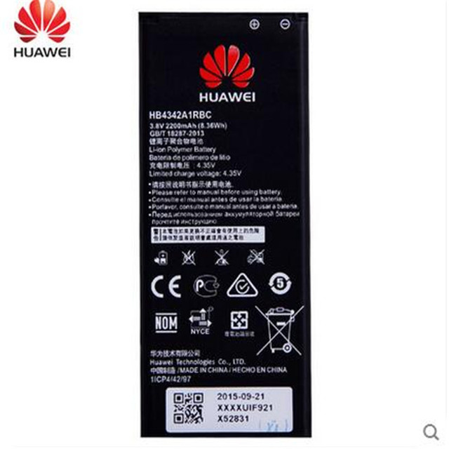 for Huawei Honor 4A Honor4A SCL-TL00 SCL-ALOO 2200mAh HB4342A1RBC Battery