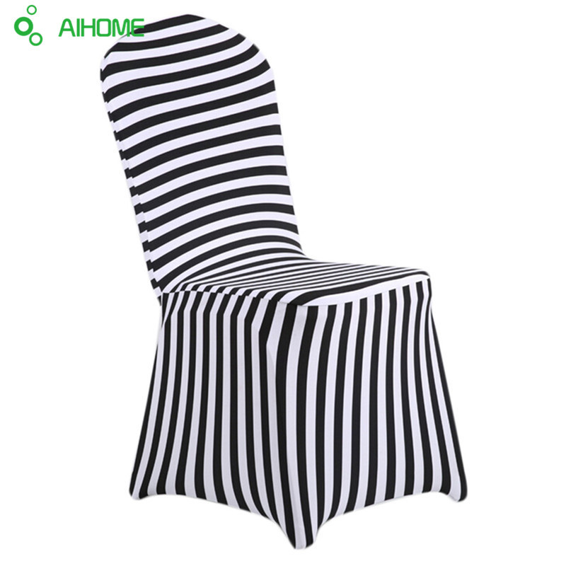 Table & Sofa Linens New Fashion Chair Cover Wedding Decoration Solid Colors Polyester Spandex Diner Chair Covers For Wedding Party 6pcs Punctual Timing Home Textile