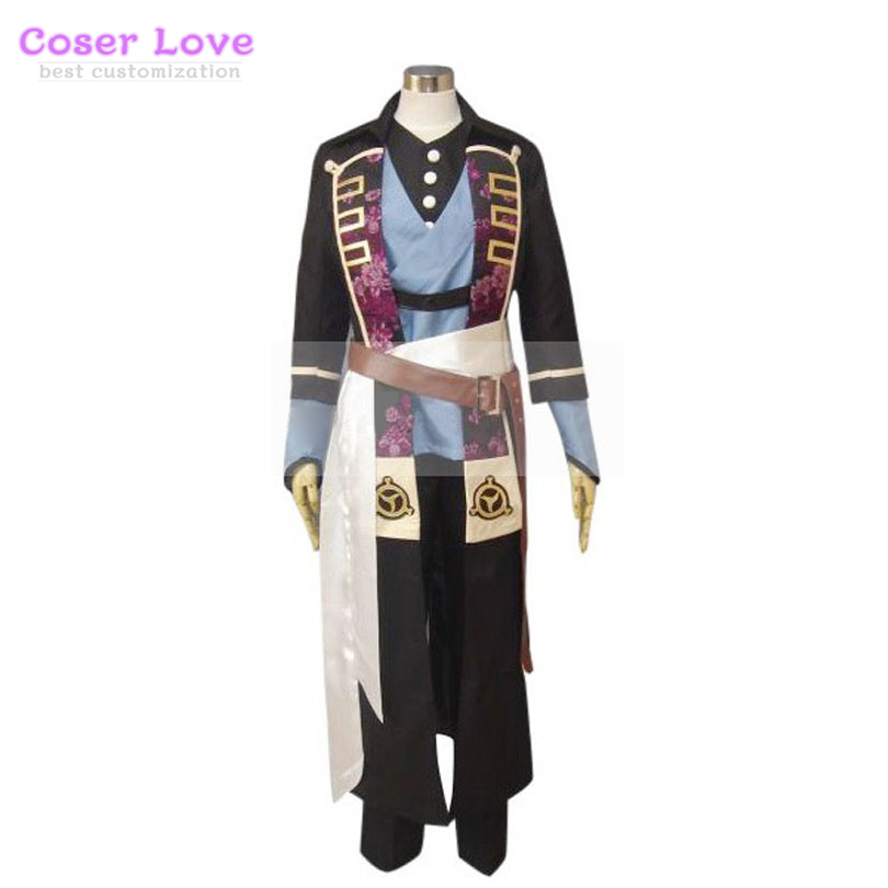 Costume de Cosplay Halloween Costume de noël Hakuouki Shinsengumi Kitan Hijikata Toshizo