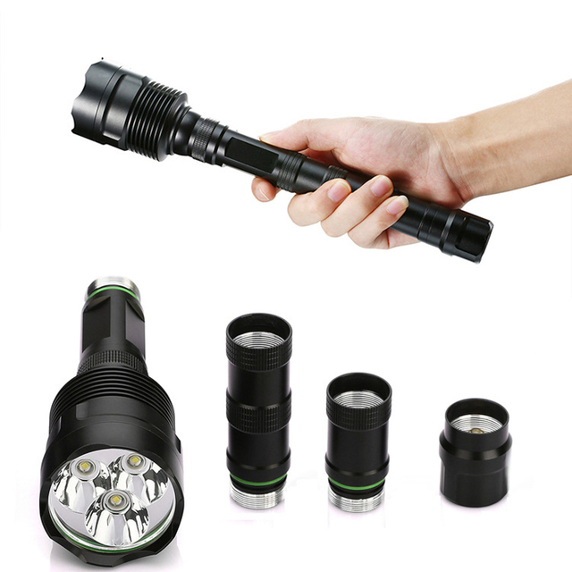 High Quality 3x CREE XML T6 – 15x CREE XML T6 Led B 32000 Lumens 5 Mode 18650 Super Bright LED Flashlight Camping Lamp Light