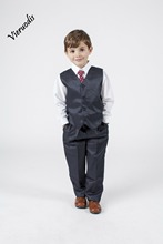 Boys Suits 2 Piece Waistcoat Suit Wedding Page Boy Baby Formal Party 3 Colours boys suits 2 piece waistcoat suit wedding page boy baby formal party 3 colours