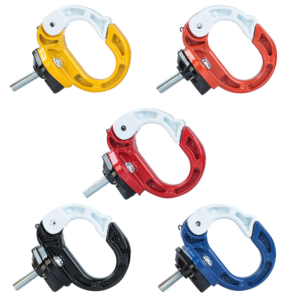 1x Motorcycle Helmet Holder Aluminum Alloy Bottle Hook Hanger Screws Luggage Hook High Quality