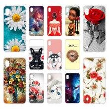 Cases SFor Samsung Galaxy A10 Case Silicon DIY Painted Bumper For A50 A 50 A40 A30 A20 A70 M10 M20 M30 M40 Covers