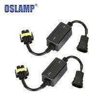 Oslamp ошибок Canbus декодер для светодио дный фар для автомобиля внедорожник светодио дный автомобиля лампы может-Bus H4 H7 H8 H11 H13 9005/HB3 9006/HB4