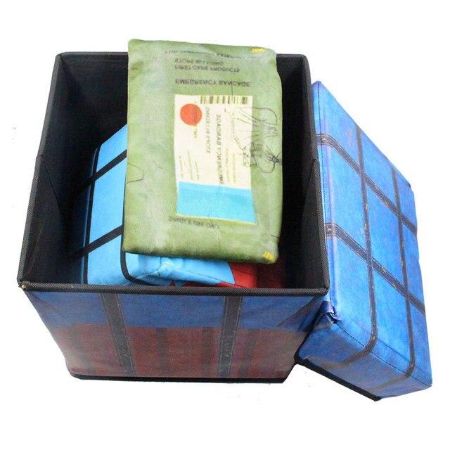 PUBG Playerunknowns Battlegrounds first aid kit painkiller bandage Air drop Storage box Plush Gift Plush pillow kids adults gift 5