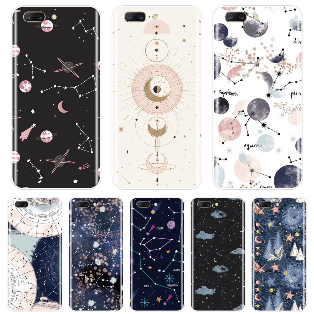 Silicone <font><b>Phone</b></font> Case For <font><b>One</b></font> <font><b>Plus</b></font> <font><b>6</b></font> 6T 5 5T 3 3T Art Star Space Constellation Abstract Soft Back <font><b>Cover</b></font> For OnePlus 3 3T 5 5T <font><b>6</b></font> 6T image