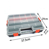 Large Plastic Storage Box Screw Box Tool Box Plastic Parts Box Of The Electronic Element With
