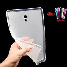 Мягкий силиконовый чехол для Samsung Galaxy Tab A A6 7,0 8,0 9,7 10,1 10,5 T580 T510 T590 чехол Coque