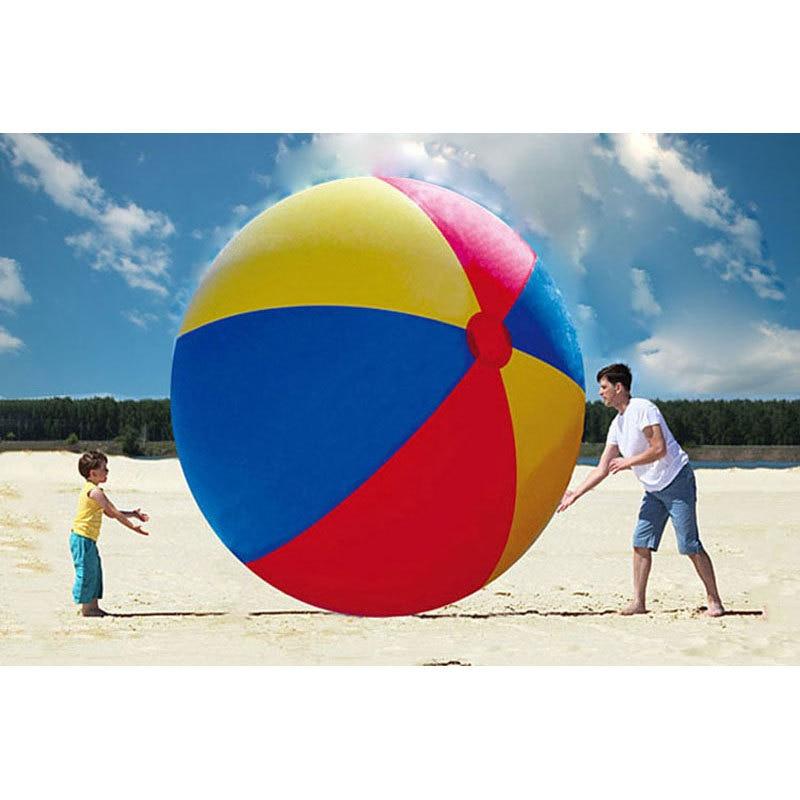 Beach Ball In Water aliexpress : buy 200cm super big giant inflatable beach ball