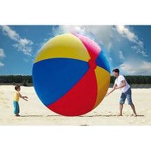 200 cm Super gran gigante inflable pelota de playa grande playa de la piscina jugar el deporte juguete de verano juego de los niños bola del partido de la diversión al aire libre globo