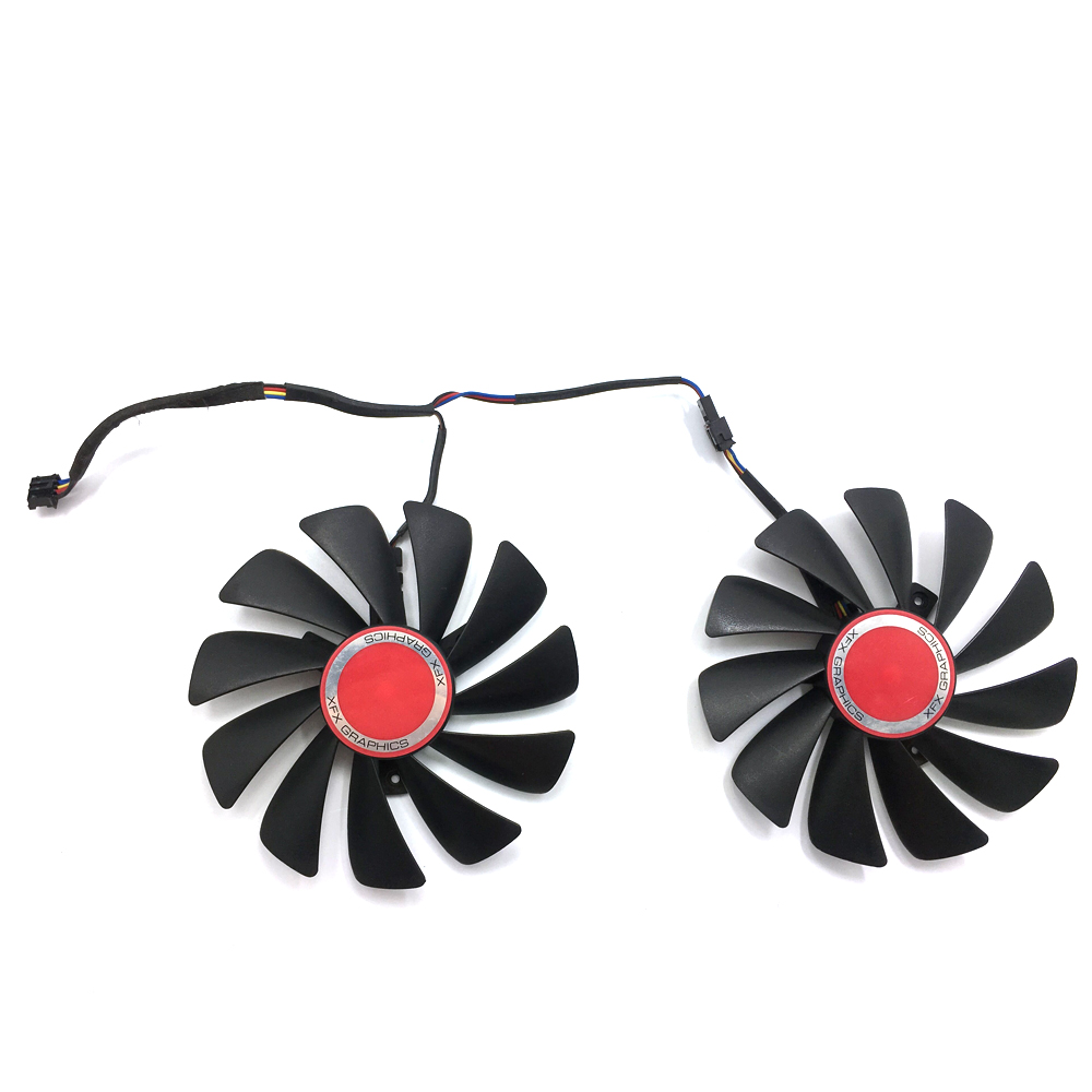 Image 4 - Original 95MM CF1010U12S DIY FDC10U12S9 C PC Cooler Fan Replace For XFX AMD Radeon RX580 RX590 GPU Graphics Card Cooling Fan-in Laptop Cooling Pads from Computer & Office