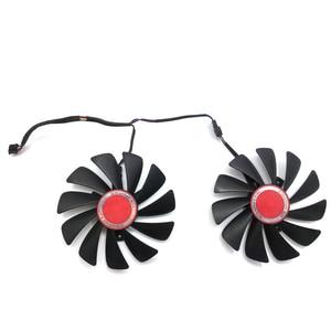 Image 4 - Original 95MM CF1010U12S DIY FDC10U12S9 C PC Cooler Fan Replace For XFX AMD Radeon RX580 RX590 GPU Graphics Card Cooling Fan