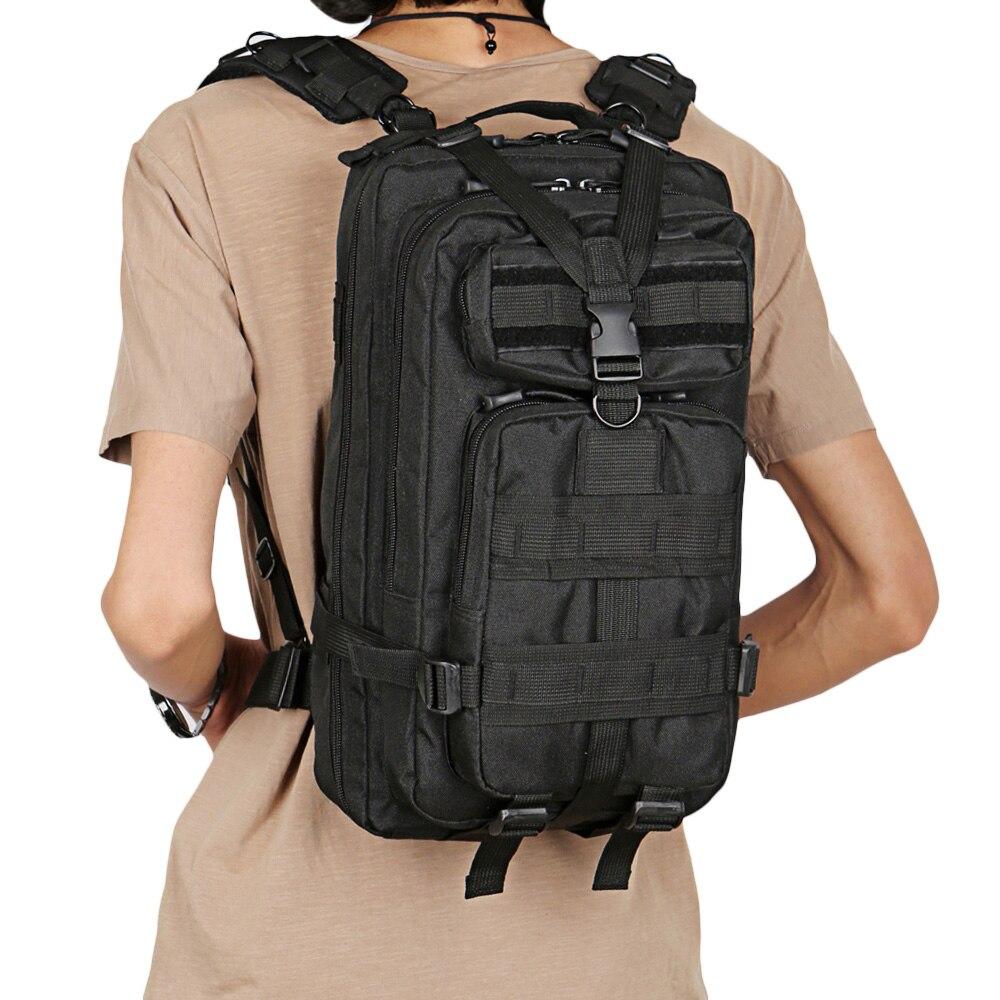 Hommes militaire tactique sac à dos 25L 3 jours assaut Pack armée 600D Molle Bug Out sac Trekking Camping randonnée en plein air petit sac à dos
