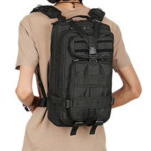 Men Military Tactical Backpack 25L 3 Day Assault Pack Army 600D Molle Bug  Out Bag Trekking 86fab4a6b2716