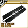 Real Carbon Fiber Door Sill Plate Panel For Mazda MX5 NA MK1 Miata Car Accessories Car Styling In Stock