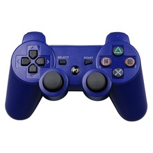 Wireless Bluetooth Gamepad For PS3 Game Controller For Playstation 3 Double shock game Joystick console for sony playstation 3 wireless bluetooth gamepad joystick for ps3 controller controls game gamepad 11 colors free shipping