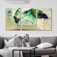 Frameless Dancer Printed Painting Oil Painting Home Decoration For Living Room