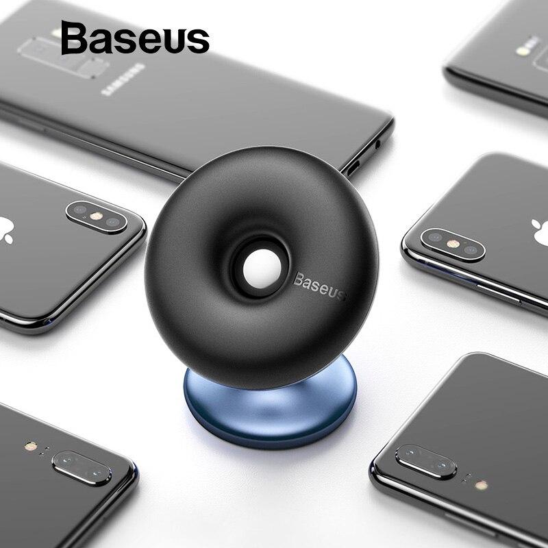 Baseus Auto Halter für Zelle Handy 360 Grad Air Vent Auto Halterung Stehen für iPhone X 7 Samsung magnetische Telefon Halter