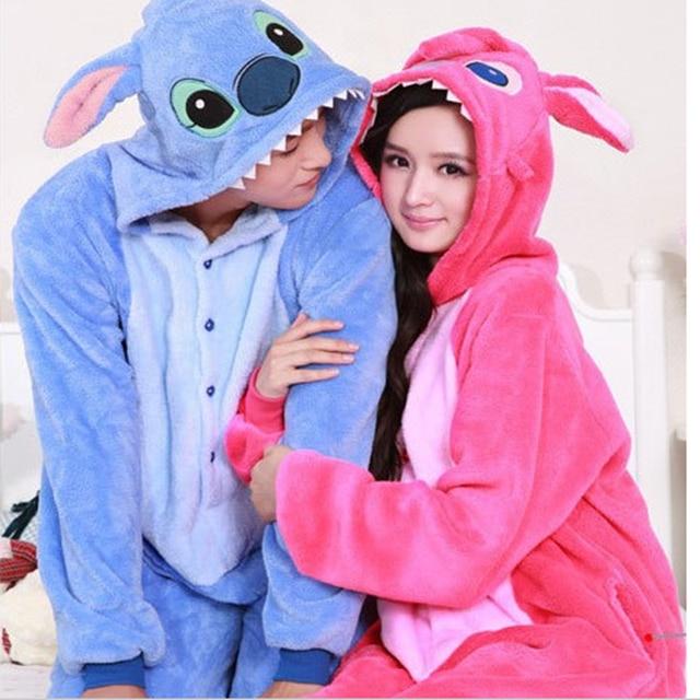 616b22000f45 Adult Unisex Flannel Pajamas Pajamas Cosplay Costume Animal Cartoon ...