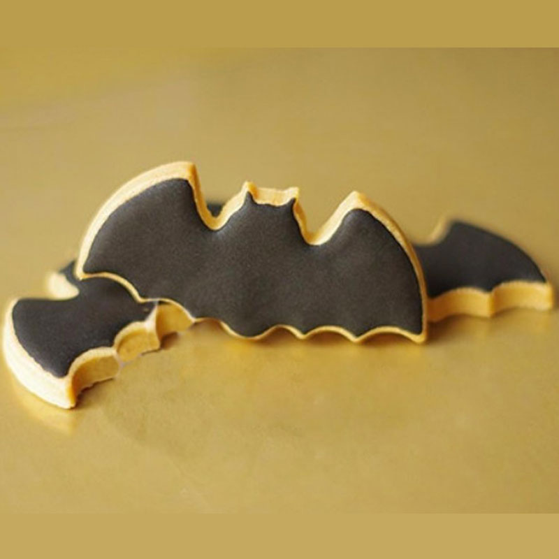 10pcs/lot Cookie Cutters Batman Shaped Stainless Steel Wedding Cake ...