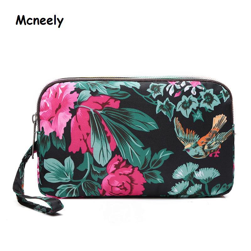 Mcneely Large Capacity Ladies Wallet Three Fold High Quality Women Wallet Female Wallets Carteira Feminina Money Bag Clutch