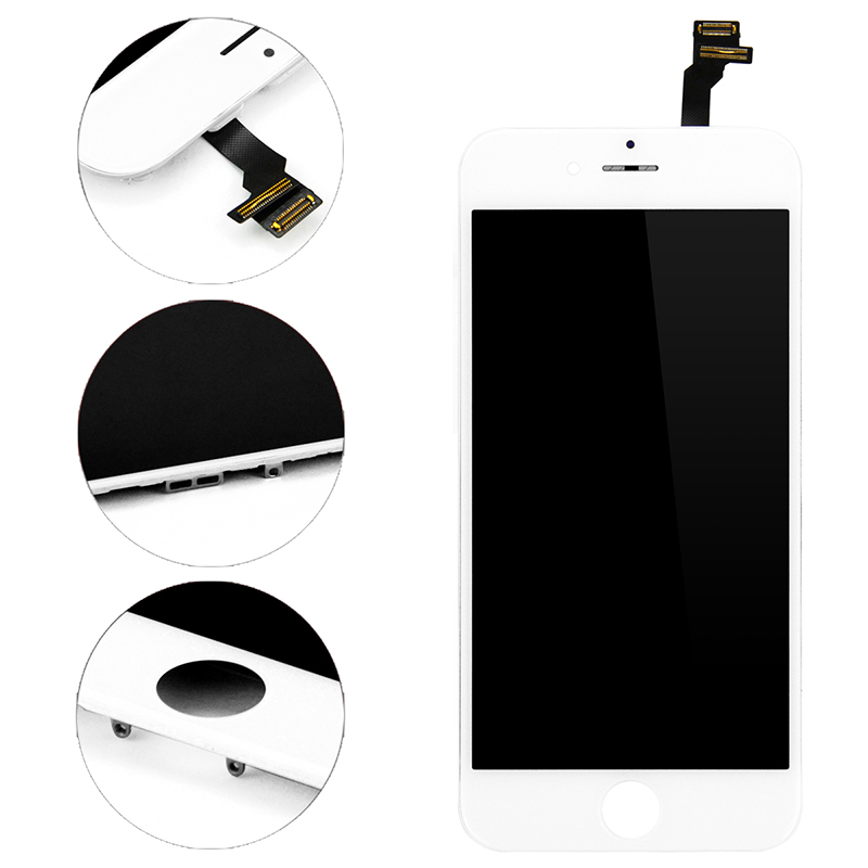 HTB1.l9Cuv1TBuNjy0Fjq6yjyXXaZ 100% No Dead Pixel LCD For iPhone 6 6s 7 8 7 Plus OEM Display 3D Touch Digitizer Pre-assembled White Black+Tools Tempered Glass
