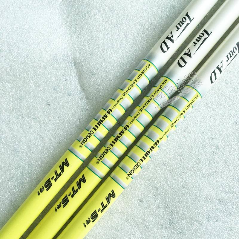 Cooyute New Golf Drivers Shaft TOUR AD MT-5 Graphite Golf Shaft R Or S Or SR Flex 1pcs/lot Wood Clubs Golf Shaft Free Shipping