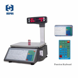 Image 2 - barcode printing Electronic weighing Scales with 10000 PLUs data storage capacity for supermarket meat shop or fruit shop