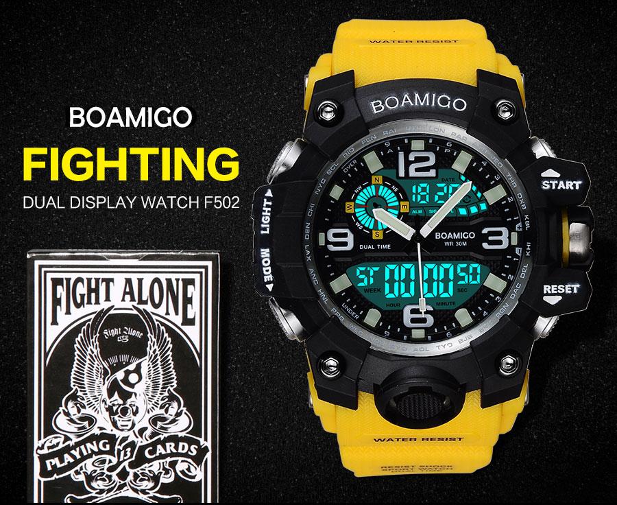 HTB1.l9XPFXXXXawapXXq6xXFXXXJ - BOAMIGO FIGHTING SERIES Sport Watch for Men