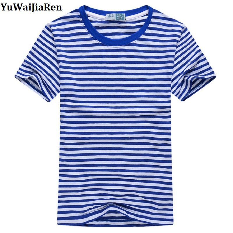 Online Get Cheap Mens Blue and White Striped T Shirt -Aliexpress ...