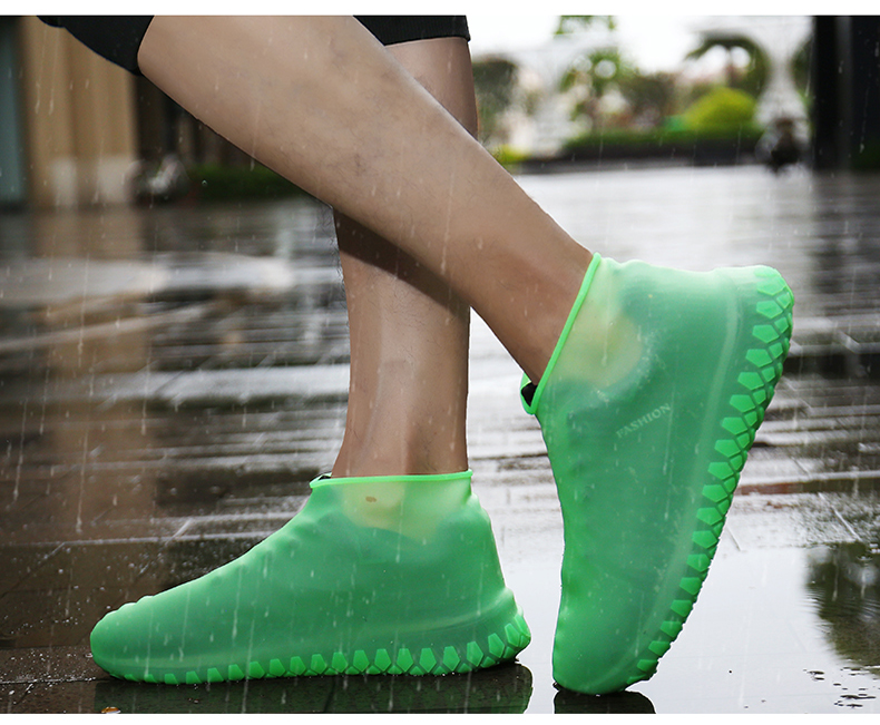HTB1.l9reUGF3KVjSZFvq6z nXXaD - Anti-slip Reusable Silicon Gel Waterproof Rain Shoes Covers