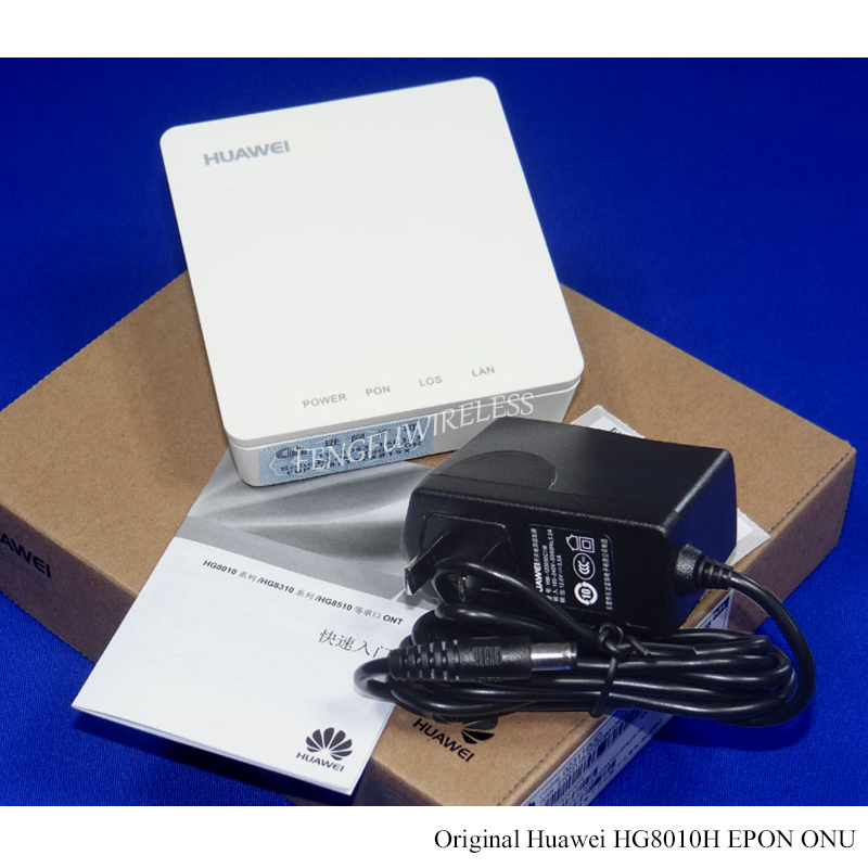 Hottest Original Second-hand Used Hg8010h Epon Onu Ont Ftth Sfu Router Mode 1ge Lan Port Epon Terminal Bridge Model Communication Equipments