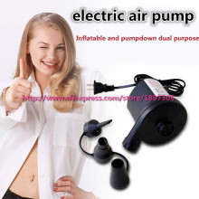 Super Practical! Electric Inflator Pump For Sex Doll Sex Sofa Airbed Inflatable and Pumpdown Dualpurpose Air Pump Sex Furniture(China)