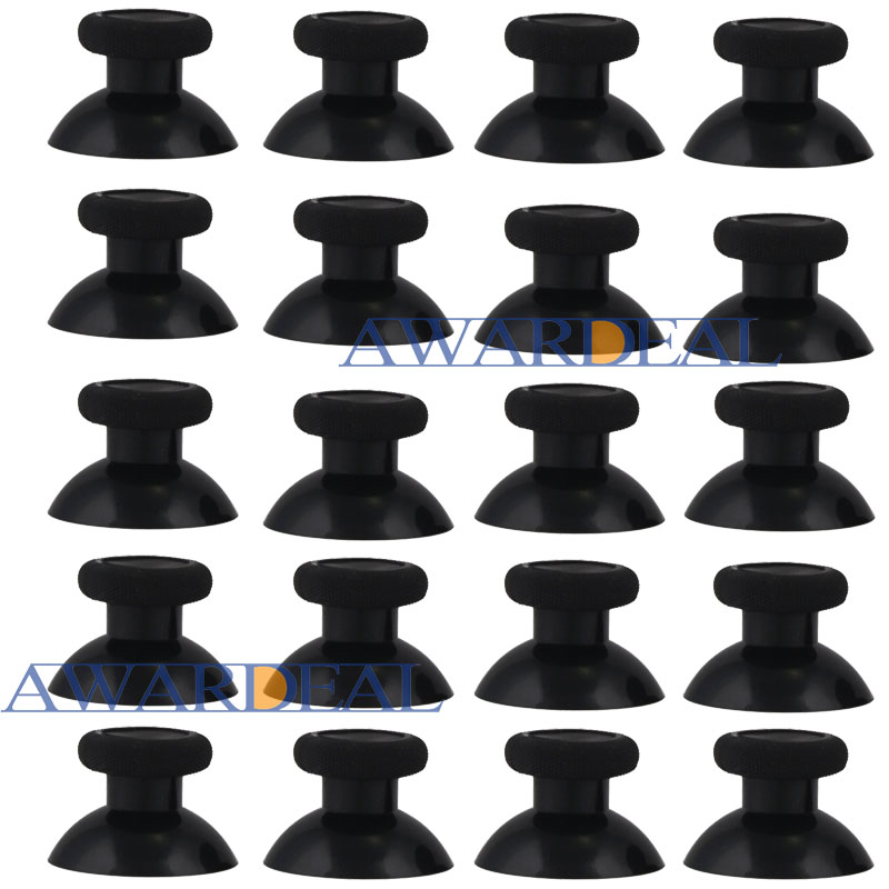 20 PCS Black Analogue Thumbstick Joystick Replacement for Xbox one Game Controller -ZXOJ0109